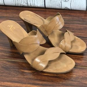 AEROSOLES Shoes - A2 by Aerosoles Brown Power of Love Sandals Size 8